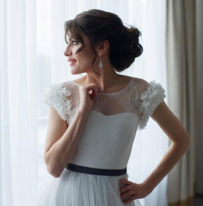 Etsyのウェディングドレスの例2