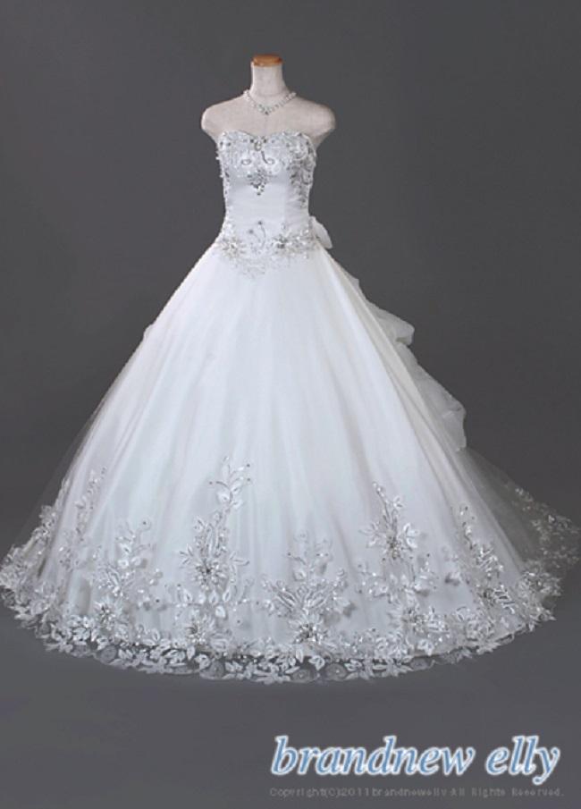 ブランニューエリー ウェディングドレスの例1
