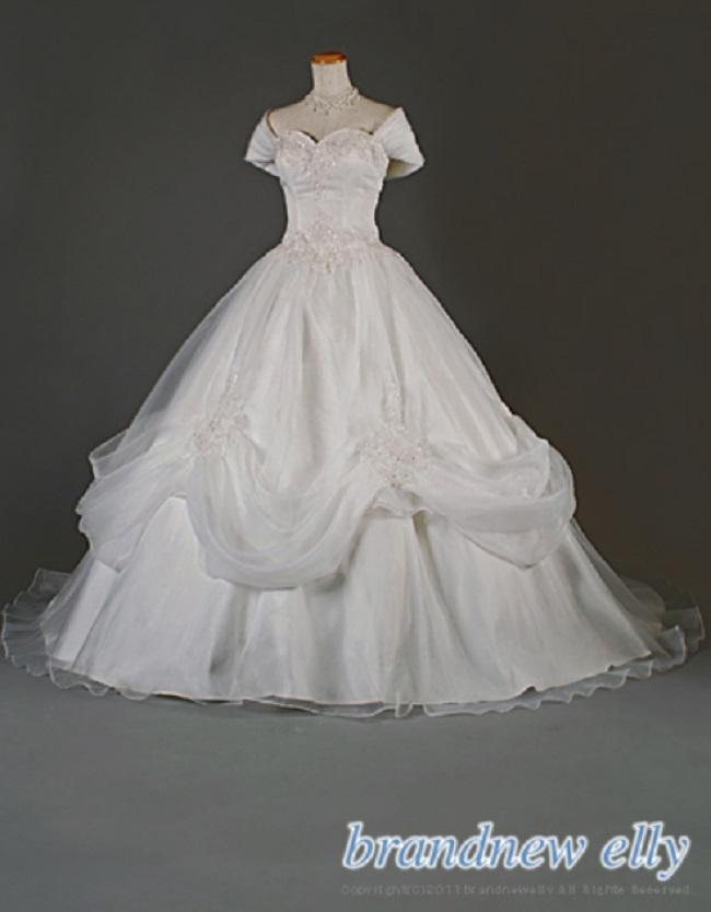 ブランニューエリー ウェディングドレスの例2