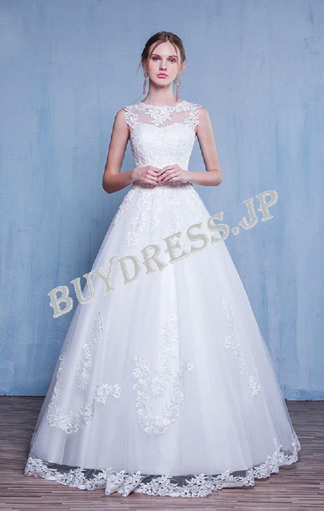 BUY DRESSのウェディングドレスの例1