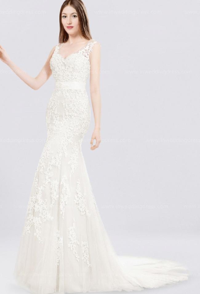 In Wedding Dressのウェディングドレスの例1