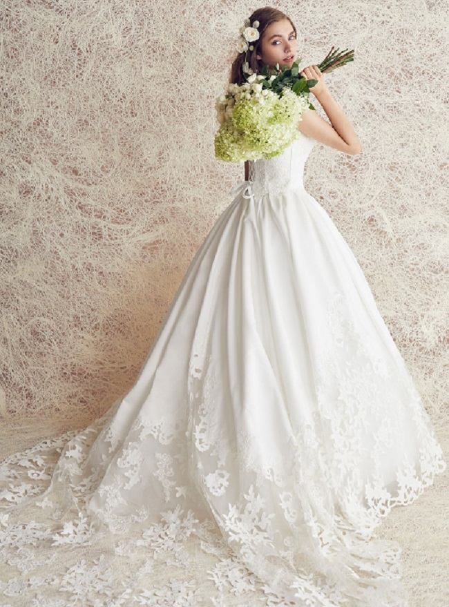 チュノアウエディング ドレスの例2