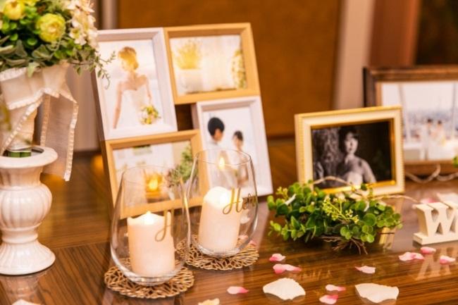 結婚式場のウェルカムスペース