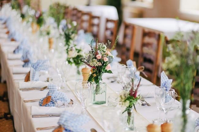 披露宴 テーブル