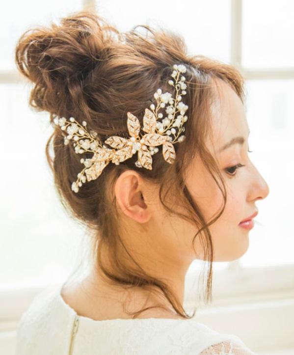 With Whiteのヘッドドレス