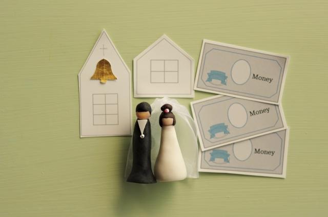 結婚式にかかるお金